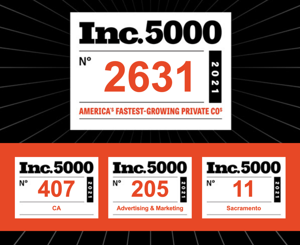 Oncore Leads Awarded Inc. 5000 Award as One of the Fastest-Growing Privately Held Companies in The United States